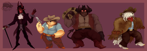 [ADOPTS] Demons N Dogs AUCTION [CLOSED] by zigzaggin-goon