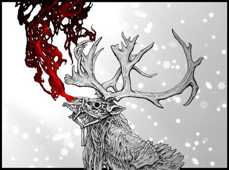 9th Reindeer by PhillGonzo