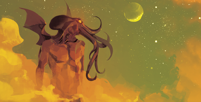 Cthulhu by GigiCave