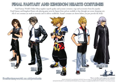 Final Fantasy Costumes Ad by AmberDust
