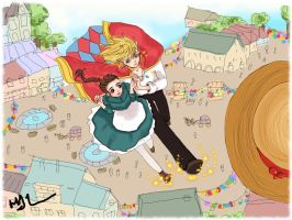 Howl's Moving Castle by Lethevert