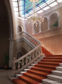 The Staircase by Epar3D
