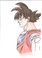 Drawings - Dragon Ball Z - Goku by razieldbz