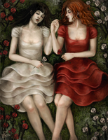 02 - Snow White and Rose Red by AkaiSoul