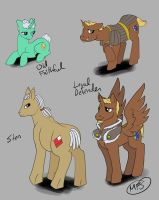 Dragon Age Ponies Set 2 by modesty