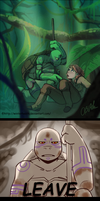 TMNT Amazon AU - Not as planned by Anime-Grimmy