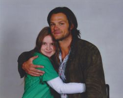 My Sister and Jared Padalecki by crazy71096