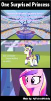 Comic: One Surprised Princess by MyPaintedMelody