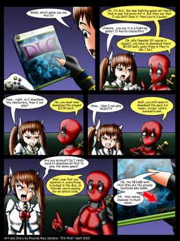 Deadpool and Nanoha issue 9 by Evil-Rick