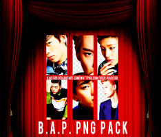 B.A.P. PNG Pack by kaixsoo