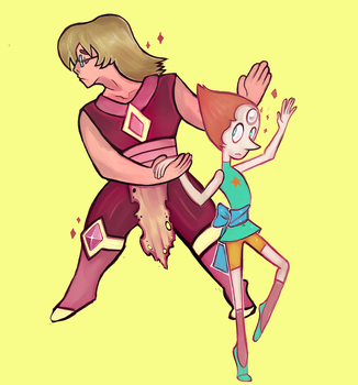 Zirconia and Pearl by The-Elusive-Cat