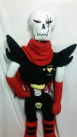 Underfell Papyrus Plushie by crispicroissant