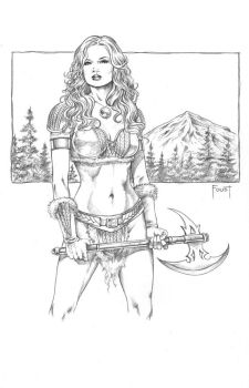 Barbarian by MitchFoust