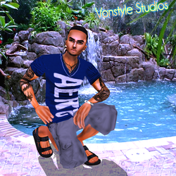 vOnsTYLES cOOL bLue Summer by TreStyles