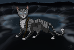 Jayfeather and the Stick by Faunafay