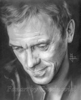 Hugh Laurie by enednoviel
