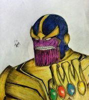 Thanos by dhrubo2002