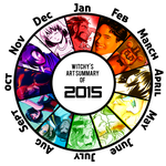 Art Summary of 2015 by witch-girl-pilar