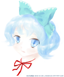 Cirno by Laoism