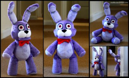 Five Nights At Freddy's - Bonnie - Plush by roobbo