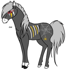Halloween Adoptable #2 CLOSED by horsez