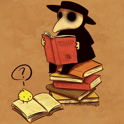 Plague Doctor X by FrankiesBugs