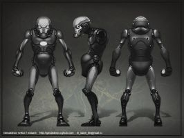 Old Iron man model sheet by Gimaldinov