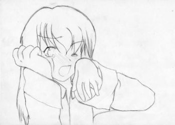 Another crying girl by Maho-Ayano