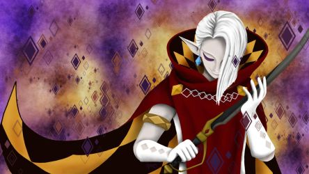 Demon Lord Ghirahim (calm version) by Indiliel