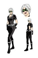 Emma Rigby as Black Cat [color 2] Concept Art by skysoul25
