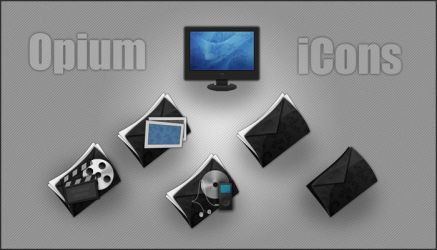 Opium iCons by Luk3V