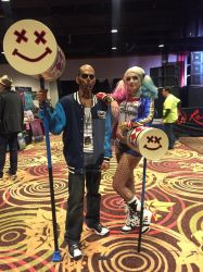 WinterCon 2016-El Diablo and Harley Quinn by ShawnAtkinson