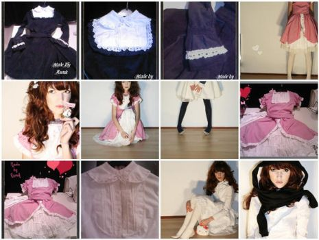 Selfmade Lolita dresses and ho by Nouk44