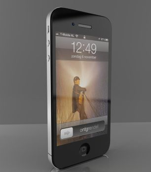 Iphone 4 unfinished by InstantMotion