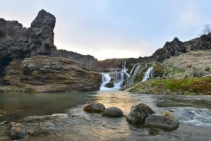 Otherworldly Iceland Stock by little-spacey