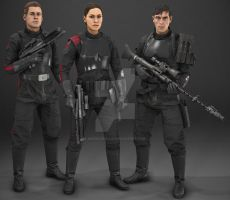 Star Wars Battlefront II: Inferno Squad by MarkusRollo