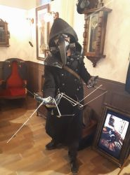 Plague Doctor Steampunk by WaveSKyLord