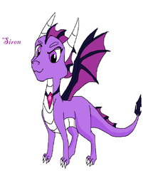Siren the dragoness by Cianna200