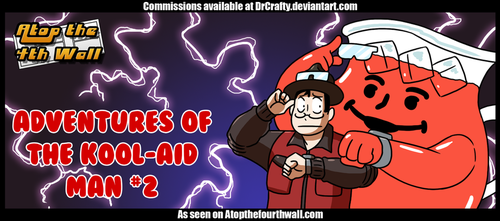 AT4W: Adventures of the Kool-Aid Man #2 by DrCrafty
