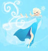 Elsa by YaneYing