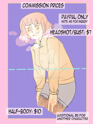 Commissions [OPEN] PayPal Only by Artswork