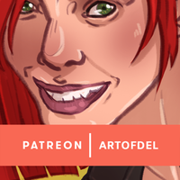 Patreon Update - Red Head by delusionmaker