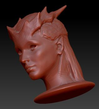 Queen of Pain Dota 2 set proces 4 by ivanbogicevic