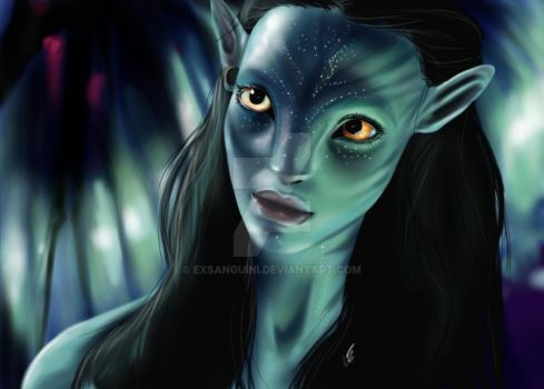 Neytiri by Exsanguini