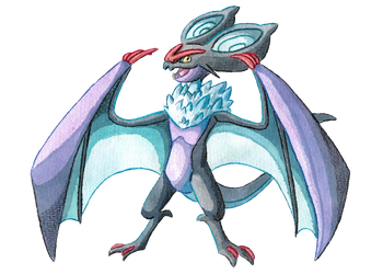 Flying Type Collab: Noivern by PitchBlackEspresso
