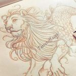 Mermay is coming.... But Heather  thats a lion  . by HeatherHitchman