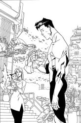INVINCIBLE 123 cover by RyanOttley