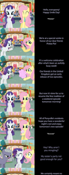 Rarity and Fluttershy Say Goodnight by MLP-Silver-Quill