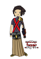 Terra Kingdom Hearts style Adventure Time by Inyor