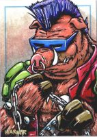 Bebop sketch card by JLWarner